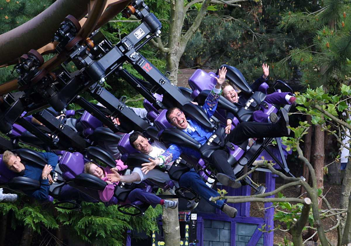 Our List of the Best Theme Parks in the UK