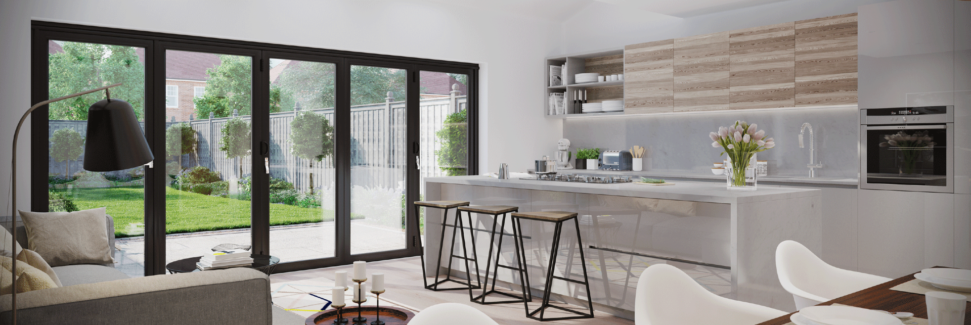 Why Bi Folding Doors Are Becoming the Must Have Home Improvements