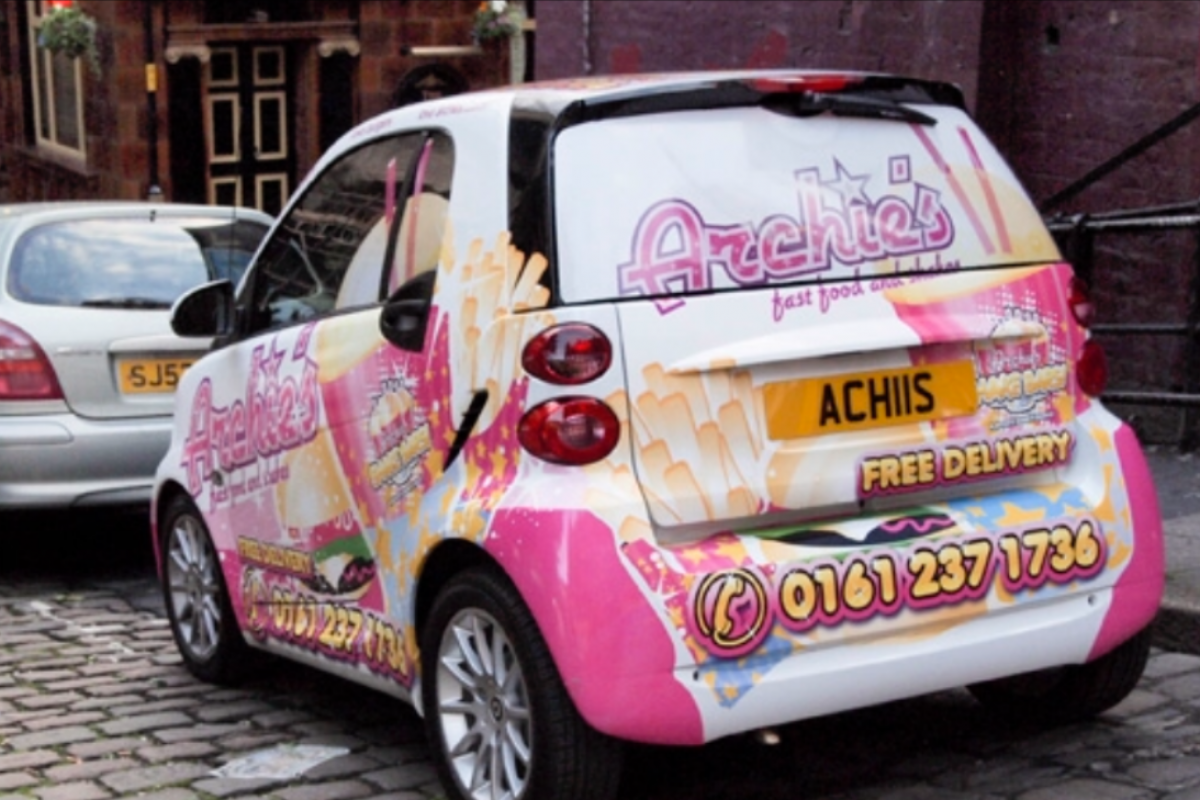 Vinyl Vehicle Wrapping Manchester
