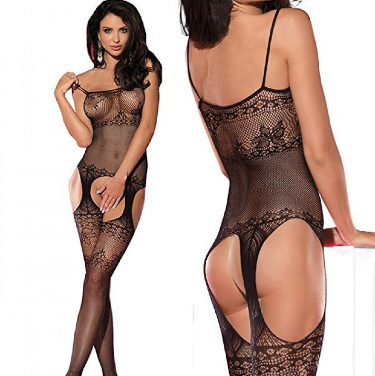 Sexy Lace See Through  Bodystocking